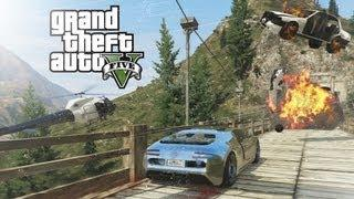 Awesome Chase Scene From GTA V Game