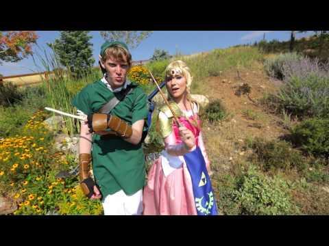 Jason Derulo's Wiggle Song Legend Of Zelda Parody