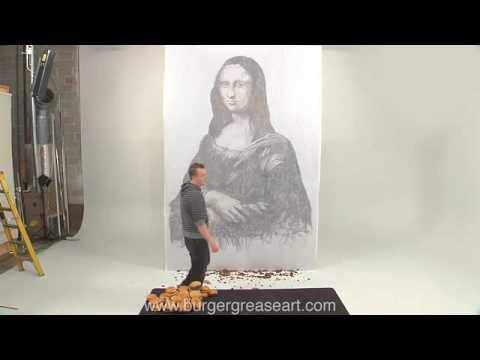 Awesome - Burger Grease Mona Lisa