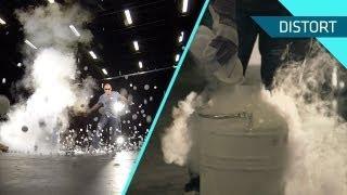 Ping Pong Balls Explosion Using Liquid Nitrogen