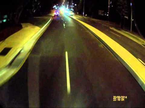 Instant Karma For Driver Who Made An Illegal UTurn