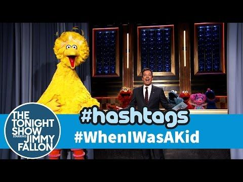 Funny When I Was A Kid Hashtag By Jimmy Fallon