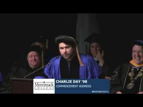 Funny And Amazing Commencement Speech By Charlie Day