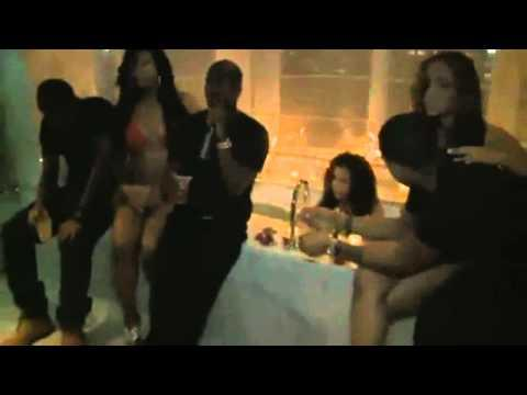 P Diddy - Girls Hair Catches on Fire @ Diddy's Release Party