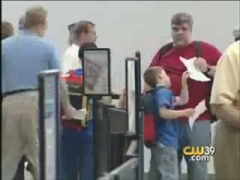 FAIL - TSA Checks A 3 Years Old Child at Chattanooga Metro Airport