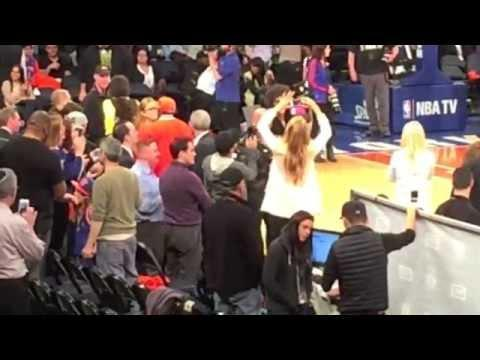 Nick Cannon Gets Booed At the Knicks Vs Nets Game