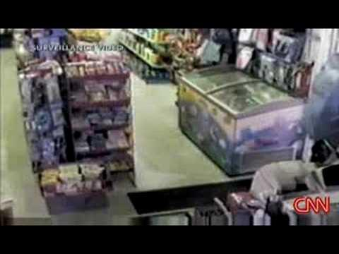 FAIL - Robber Uses Palm Frond As Weapon