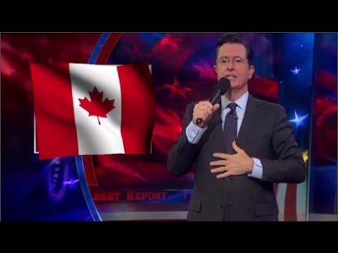 Stephen Colbert Sings The Canadian National Anthem
