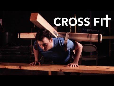 Jesus' Cross Fit Workout Parody