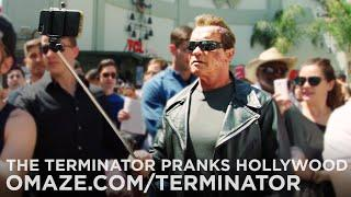 Arnold Pranks Fans as The Terminator…for Charity