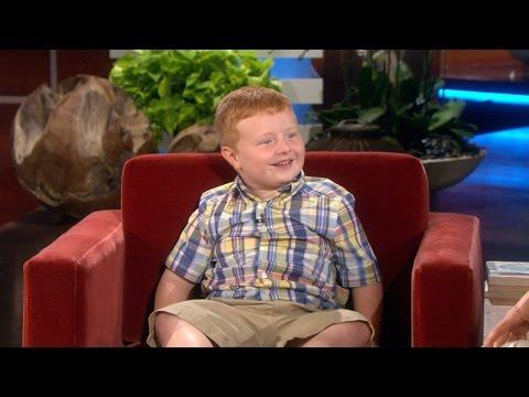 Ellen Meets The Cute Apparently Kid Noah - Part 2