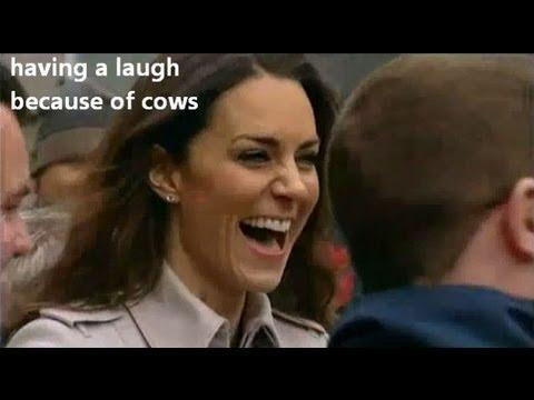 Funny Moments Of Kate Middleton