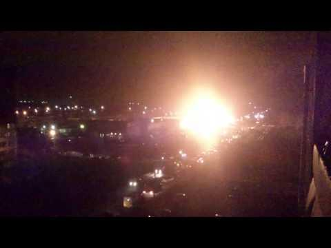 Cool - Propane Truck Explosion