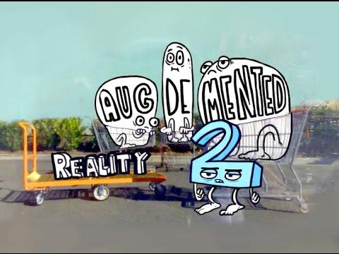 Funny Augmented Reality Cartoon