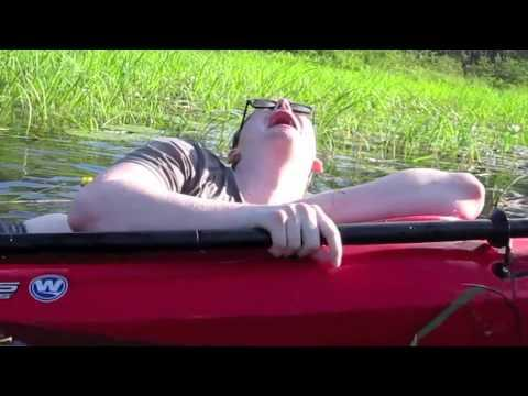 Drunk Guy On The Sinking Kayak