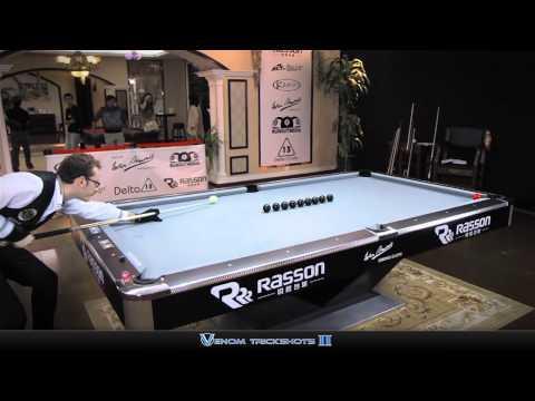 Florian Kohler's Amazing Pool Trick Shots