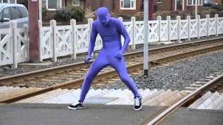 Guys Dressed Up As Superheroes And Dance To Skrillex