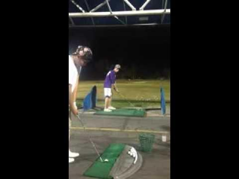 Awesome Golfing Trick Shot