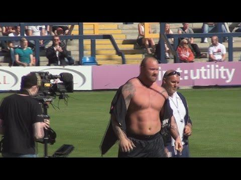 The Mountain From Game Of Thrones Becomes The Europe's Strongest Man