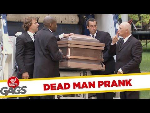 Coffin Dumped In To The Garbage Truck Prank