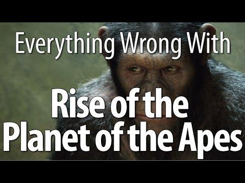 Movie Mistakes From Rise Of The Planet Of The Apes