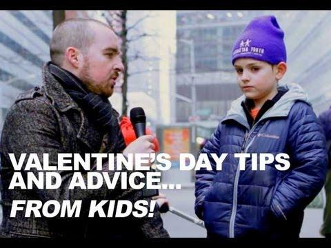 Jokes - Guy Interviews Kids About Valentines Day