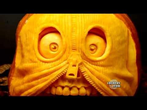 Ray Villafane - Pumpkin Carving Taken To Next Level