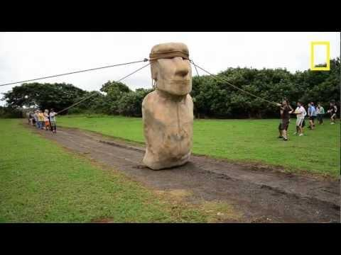 Cool - Walking Easter Island Statue