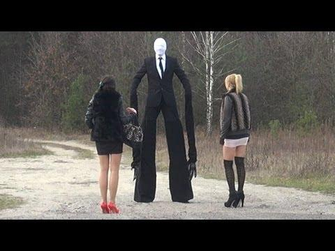 Really Scary Pictures Of Slender Man