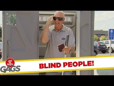 Ultimate Just For Laughs Pranks - Blind People Edition