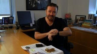 Ricky Gervais Gives Tips On Writing
