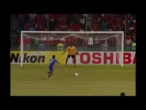 Funny Penalty Kick During The Soccer Game Between Afghanistan Vs Maldives