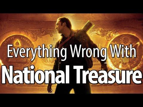 Movie Mistakes From National Treasure