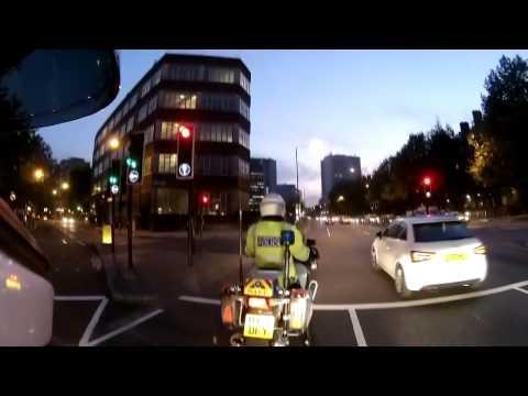 Instant Karma For Red Light Runner In UK