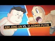 Vladimir Vs Kim Jong Un Fight Animated Short