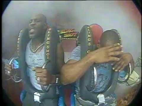 DMX's Funny Reaction To Slingshot Ride