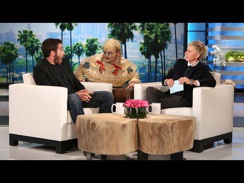 Ellen's Funny Scare Prank On Jake Gyllenhaal