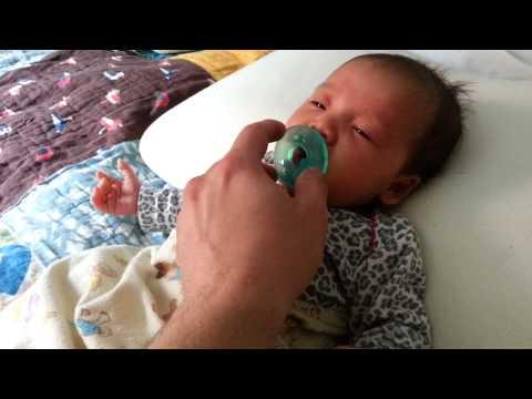 FAIL - Dad Sneezes And Scares The Baby