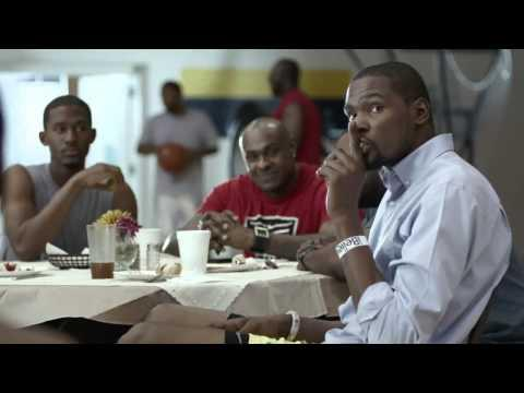 Funny Nike Ad Starring Kevin Durant And Anton Barrels