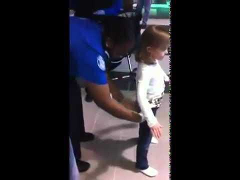 FAIL - 6 year old girl is dangerous? Oh C'mon TSA