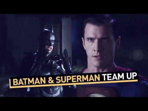 Batman And Superman Argue About Teaming Up