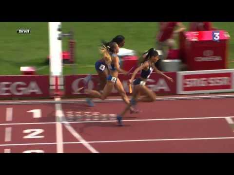 Floria Guei's Incredible Win At The 4x400m Relay