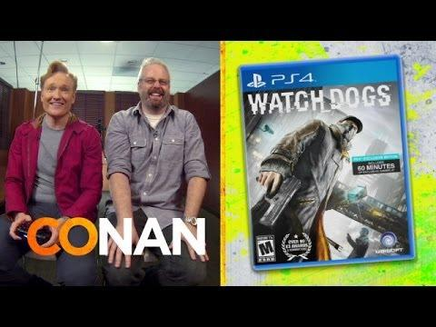Conan's Funny Game Review Of Watchdogs