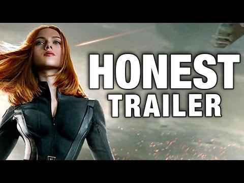 Honest Captain America - The Winter Soldier Movie Trailer