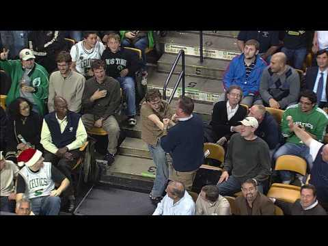 Jokes - Celtics Fan Dances To Bon Jovi's Living On A Prayer Song