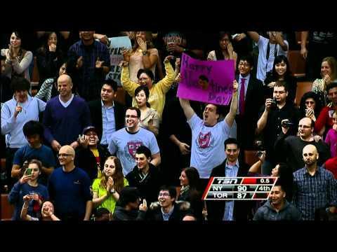NBA - Jeremy Lin's Buzzer Beater Shot