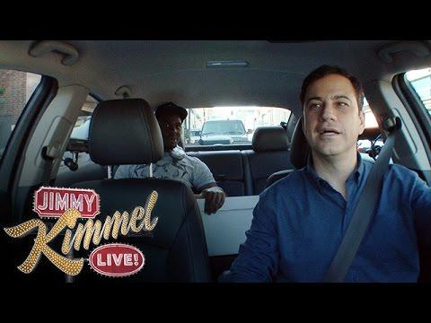 Jimmy Kimmel Gets Hired By Uber