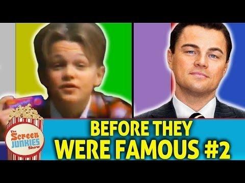 What Celebrities Did Before They Were Famous