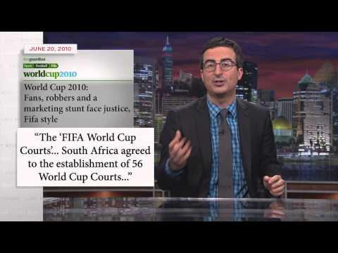 John Oliver's Take On FIFA And World Cup