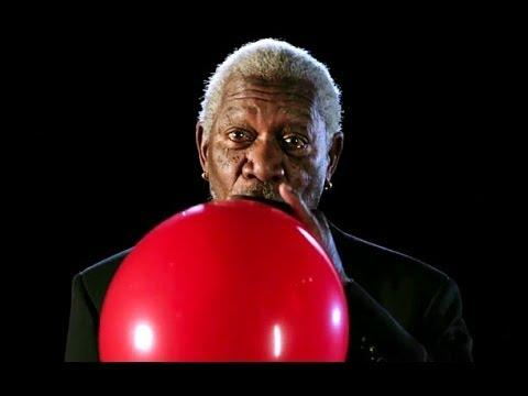 Morgan Freeman's Funny Voice After Breathing In Helium